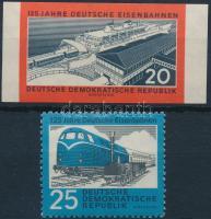 1960 2 db Vasút bélyeg Mi 805-806