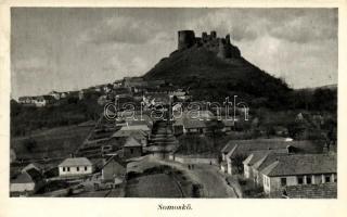 Siatorská Bukovinka; castle ruins, Sátorosbánya, Siatorská Bukovinka; Somoskői vár / Hrad Somoska