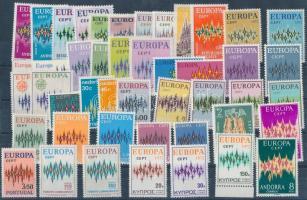 1972 Europa CEPT teljes évfolyam