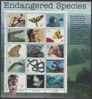 1996 Veszélyeztetett állatok kisív Mi 2769-2783