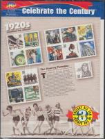 1998 20. század blokk Mi 42 eredeti csomagolásban