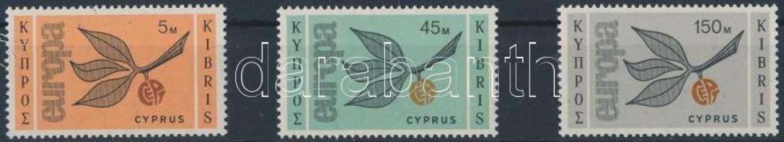 1965 Europa CEPT sor Mi 258-260
