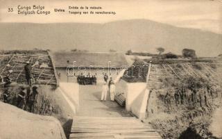Uvira, entry to the casino (EK)