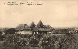 Katanga, Prison and guerds house