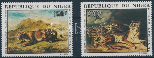1973 Festmények sor Mi 381-382