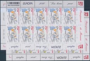 2010 Europa CEPT gyermekkönyvek kisívsor Mi 2995-2996