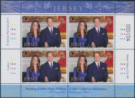 2011 William herceg és Catherine Middleton kisív Mi 1553