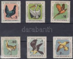 1961 Madár sor Mi 1217-1222