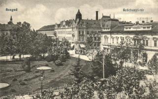 Szeged, Széchenyi tér, villamos
