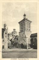 Augsburg, Roten Tor / gate, view