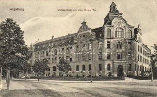 Augsburg, Volksschule / school