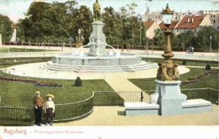 Augsburg, Prinzregenten-Brunnen / fountain