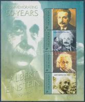 2005 Albert Einstein halálának 50. évfordulója kisív Mi 1678-1681