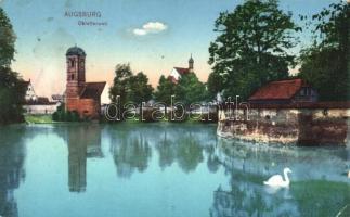 Augsburg, Oblatterwall / wall