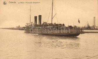 Ostend, SS Princesse Elisabeth, Ostend, SS Princesse Elisabeth hajó
