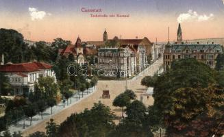 Cannstatt, Teckstrasse, Kursaal / street view