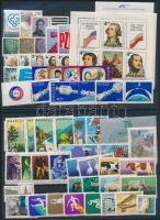 1975 Csaknem teljes évfolyam kiadásai, 2 db stecklapon