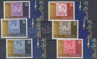 2010 Postatörténet - Regionális forgalmi bélyegek ívszéli sor Mi 1488-1493