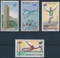 1968 Olimpiai játékok, Grenoble és Mexikó sor Mi 160-161, 176-177
