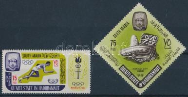 1967 Nyári Olimpia 68, Mexikó sor Mi 106-107 A