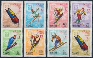 Téli Olimpia '68, Grenoble sor '68 Winter Olympics, Grenoble set