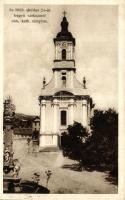 Szekszárd, 1925. október 24-én leégett Római katolikus templom (EB)