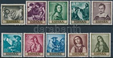 1962 Festmények sor Mi 1304-1313