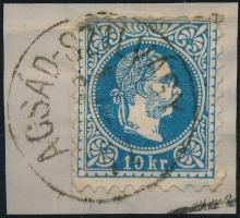 1867 10kr ACSÁD-SZILVÁGY (Gudlin 500p)