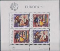 Europa CEPT, Postal History block, Europa CEPT, Postatörténet blokk