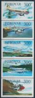 1985 Repülők függőleges ötöscsík Mi 125-129