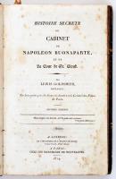 Goldsmith, Lewis:Histoire Secrete du Cabinet de Napoleon Buonaparte, et de La Cour de Saint-Cloud. Londres, 1814, Harper Le Jeune. Kopottas karton kötésben.