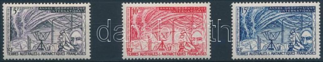 1957 Geofizika éve sor Mi 10-12