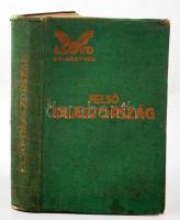 Németh Andor: Felső Olaszország képekkel, és térképpel. LLoyd útikönyvek. 1929, Lloydkönyvek Kiadóvállalata. Kiadói egészvászon kötésben.