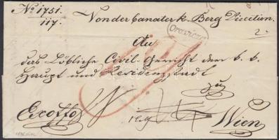 1846 Ex offo Oravicza - WIEN
