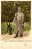 1899 Otto von Bismarck, sheet song, litho
