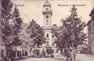 Komarno, square, town hall, Komárom, Klapka tér, Városháza