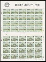 1978 Europa CEPT, Műemlékek kisív sor Mi 177-179