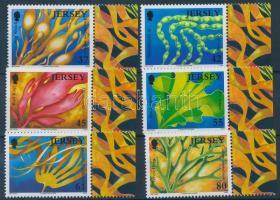 2009 Tengeri élővilág (VII.), hínár ívszéli sor Mi 1420-1425