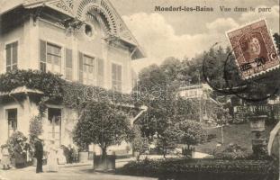 Mondorf-les-Bains, Parc; Edit. art, N. Schumacher 1911 / villa, park