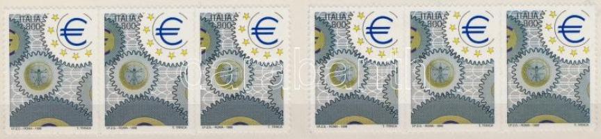 1998 Nemzetközi bélyegkiállítás, ITALIA öntapadós bélyegfüzet Mi 2604