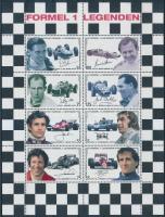2006 Forma-1 autóversenyzők (III.) kisív Mi 2592-2599