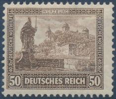 1930 Nothilfe záróérték Mi 453