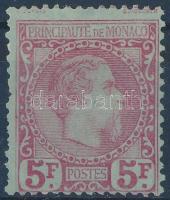 1885 Mi 10 (*Mi EUR 3.600.-)(rövid fogak / short perfs.)