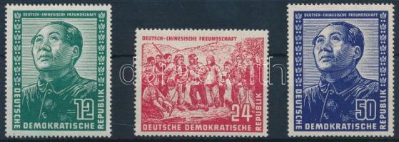 1951 Német-kínai barátság sor Mi 286-288