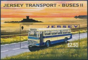 2008 Közlekedés, buszok blokk Mi 66