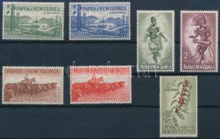 1952 7 db Forgalmi érték Mi 11, 13, 15, 17-19, 21