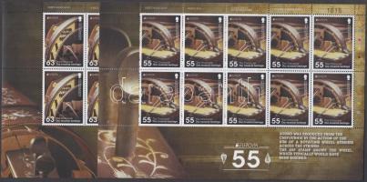 2014 Europa CEPT Hangszerek kisívpár Mi 1464-1465