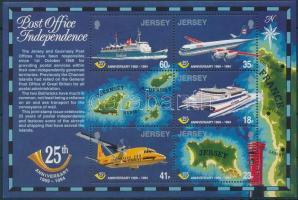1994 25 éves az önálló posta blokk Mi 9