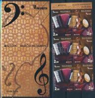 2014 Europa CEPT Hangszerek bélyegfüzet Mi MH 12
