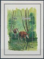 1984 WWF: Okapi blokk Mi 50